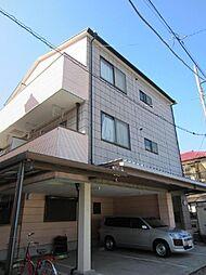 埼玉県春日部市小渕の賃貸マンションの外観
