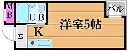 アクト62[6階]の間取り
