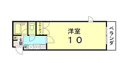 Stage-door[203号室]の間取り