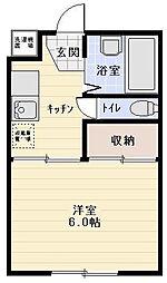 サクセスA棟[1階]の間取り