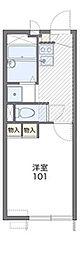 コーワ21[2階]の間取り