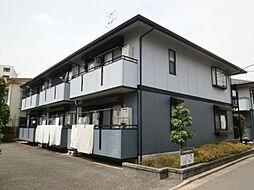東京都世田谷区千歳台5の賃貸アパートの外観