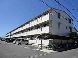ファミリーメイト矢田[2階]の外観