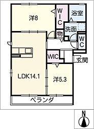 仮)D−room妙興寺[1階]の間取り