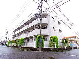 東京都東大和市仲原4丁目の賃貸マンションの外観