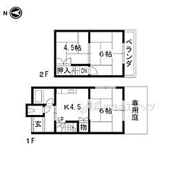 寺田駅 4.0万円