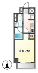 フローライト徳川[9階]の間取り