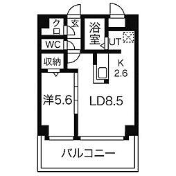 サンフロントNK[4階]の間取り