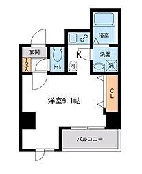 アテッサ吉野町[2階]の間取り