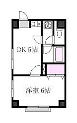 第2双葉ビル[5階]の間取り