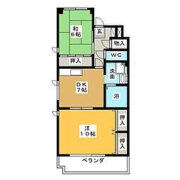 エイトI[3階]の間取り