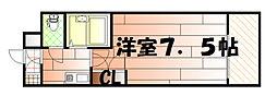 リファレンス南小倉[203号室]の間取り