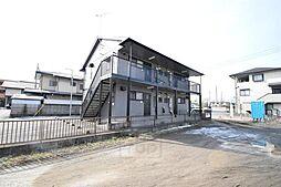 群馬県高崎市並榎町の賃貸アパートの外観
