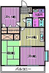グランド−ル浦和2[1階]の間取り