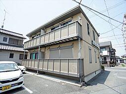 静岡県浜松市東区安間町の賃貸アパートの外観
