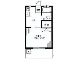 ジョイハウスオオヤマ[1階]の間取り