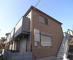京都府京都市伏見区深草大島屋敷町の賃貸アパートの外観