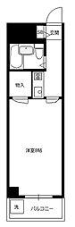 TISマンション堀の内[1階]の間取り
