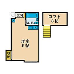メルハウス[2階]の間取り