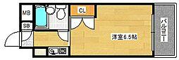 アニメイト大阪[2階]の間取り