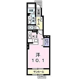 アトレ[1階]の間取り