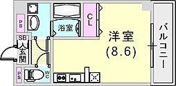 YEBISU BLD[4階]の間取り
