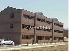 岡山県倉敷市片島町丁目なしの賃貸アパートの外観