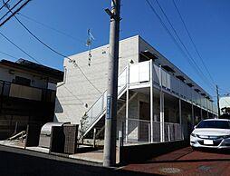 千葉県習志野市鷺沼2の賃貸アパートの外観
