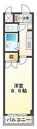 アートプラザ神戸西[2階]の間取り
