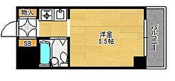 朝日プラザ新大阪アネックス[5階]の間取り