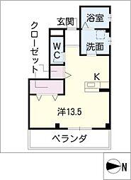 KマンションII[2階]の間取り
