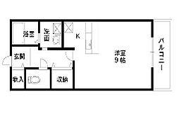 プレステージI[1階]の間取り
