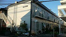 叶ハイツII[203号室]の外観