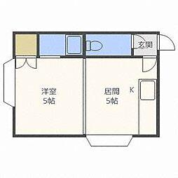 Appollo[2階]の間取り