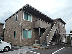 福岡県北九州市八幡西区馬場山西の賃貸アパートの外観
