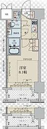 プレスタイル菊川[11階]の間取り