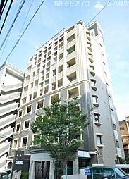 KMマンション八幡駅前III[8階]の外観