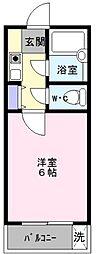 シャルムタガワ[3階]の間取り