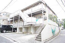 東京都世田谷区松原6丁目の賃貸アパートの外観