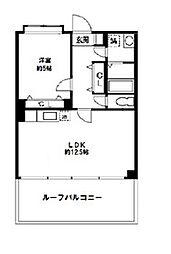 KWプレイス横浜和田町[0202号室]の間取り