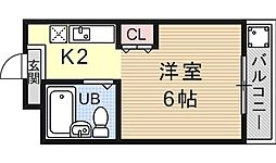 PRESTAGE MISASAGI(プレステージミササギ)[302号室号室]の間取り