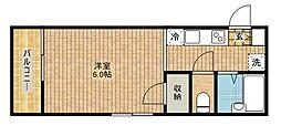 メゾン ドゥ ヌフ[2階]の間取り