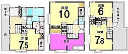 [一戸建] 東京都江戸川区鹿骨4丁目 の賃貸【東京都 / 江戸川区】の間取り
