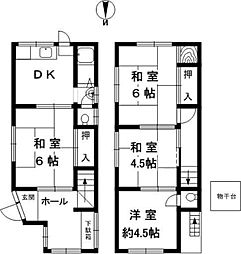 滝の茶屋駅 4.4万円