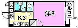 美沢寿ハイツ[402 号室号室]の間取り