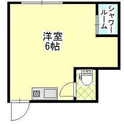 AM240 MINAMIGATA[101階]の間取り