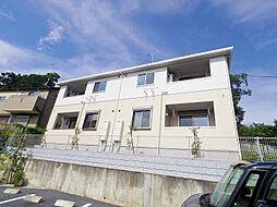東京都東大和市蔵敷2丁目の賃貸アパートの外観