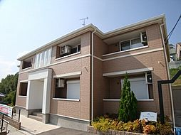 兵庫県川西市新田の賃貸アパートの外観