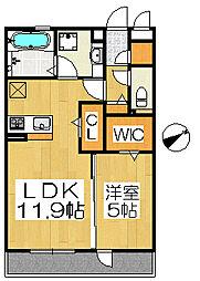 ロイヤルガーデン三国ヶ丘弐番館[3階]の間取り