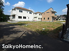 武蔵村山市本町全8区画。開発造成地につき新しい街並みの誕生です。